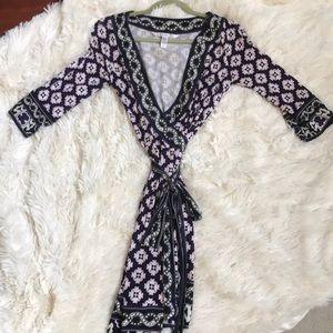 Diane Von Furstenburg wrap dress